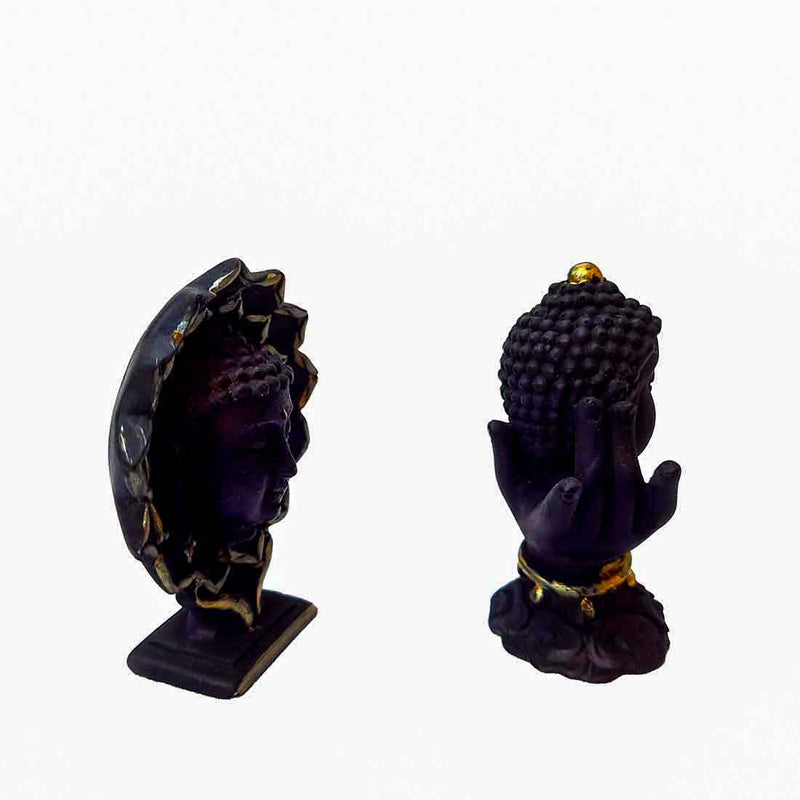 Buddha Head Showpiece Set - ApkaMart