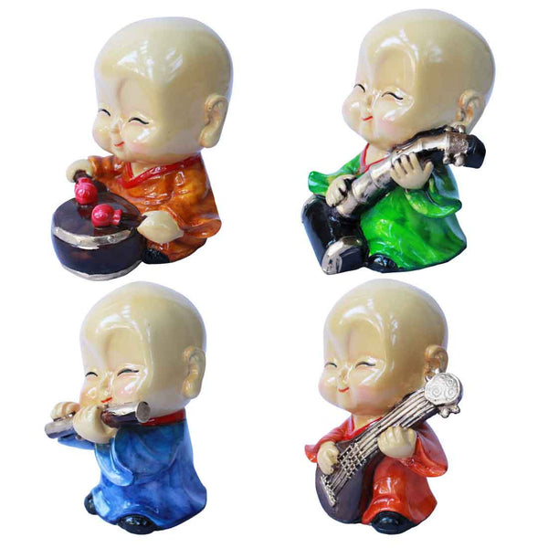 Buddha Monk Showpieces 5 Inch
