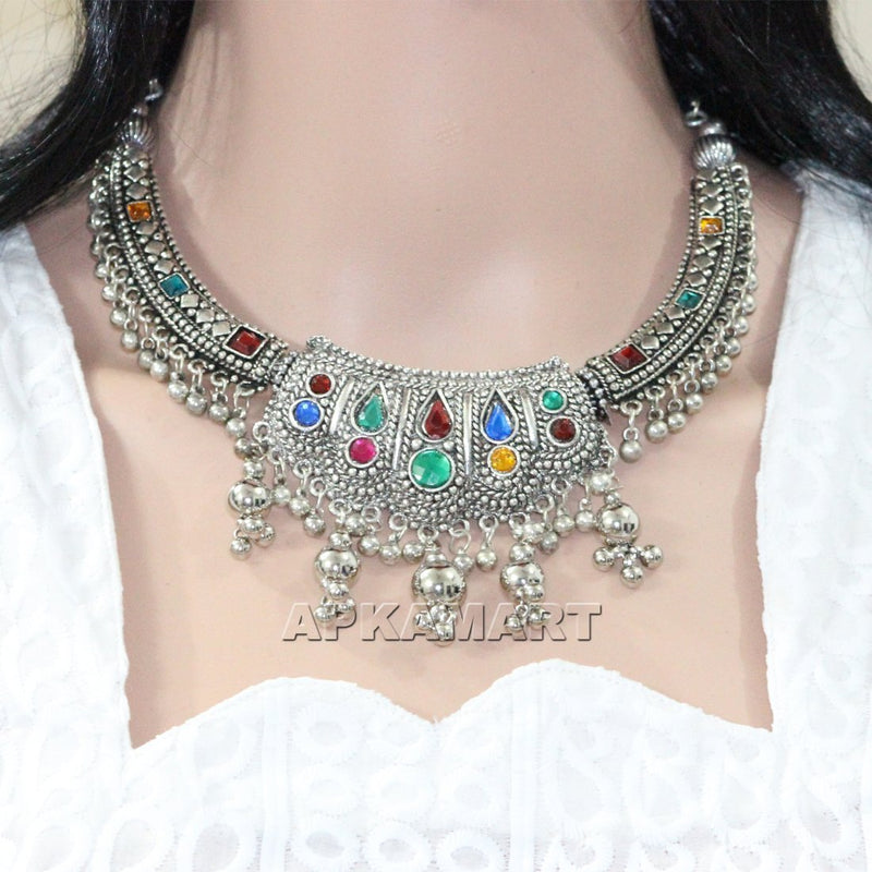 APKAMART Choker Style Traditional Necklace