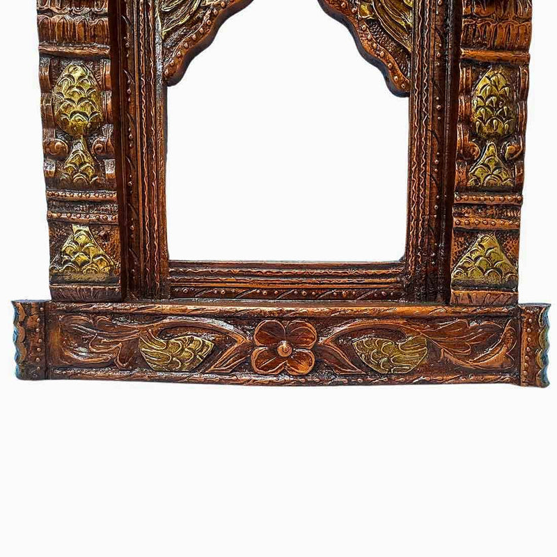 Copper Jharokha Wall 24 Inch - ApkaMart