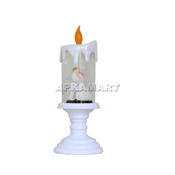 APKAMART Couple Candle Showpiece
