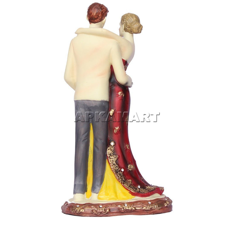 APKAMART Couple Showpiece 9 Inch