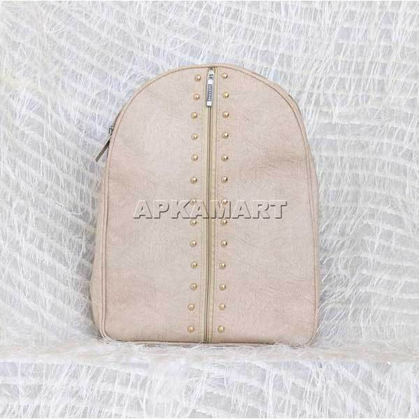 APKAMART Cream Backpack