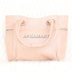 APKAMART Cream Coloured Hand Bag