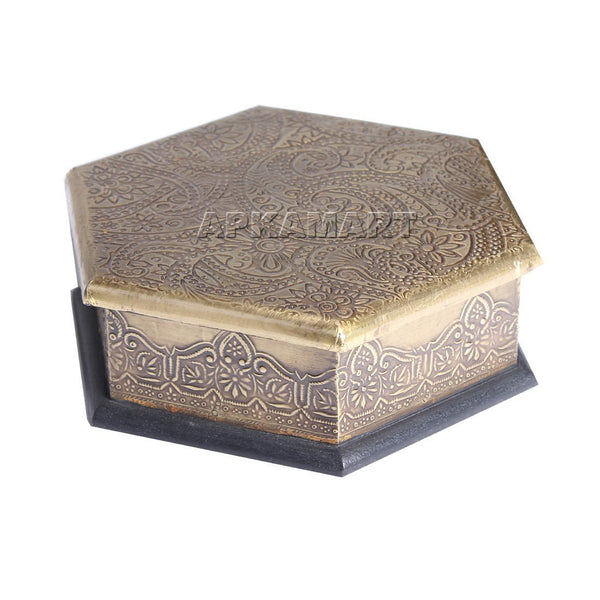 APKAMART Decorative Box 7 Inch