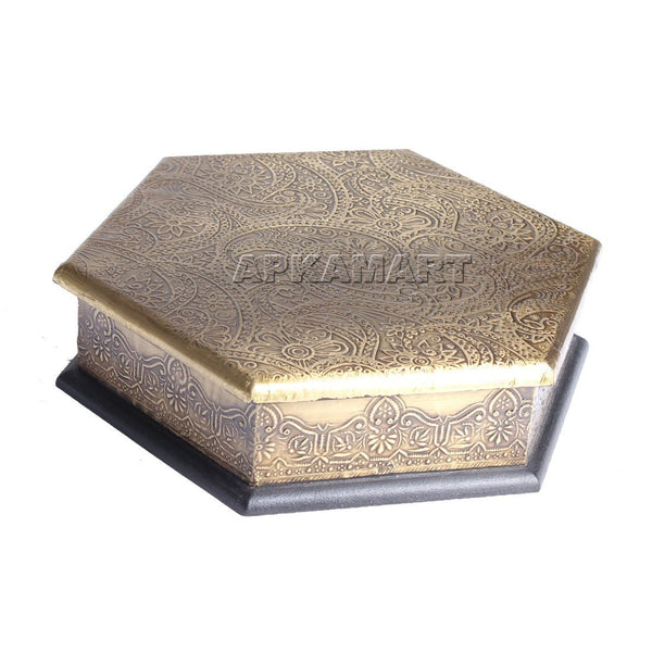 APKAMART Decorative Box 8 Inch
