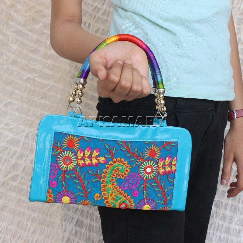 APKAMART Designer Traditional Clutch