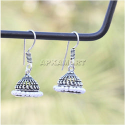 APKAMART Elegant Oxidised Earrings