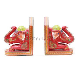 APKAMART Elephant Bookend Set 7 Inch