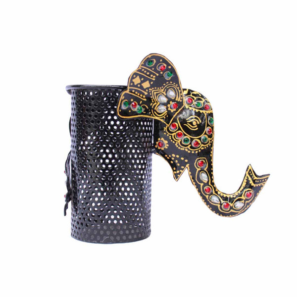 Elephant Pen Holder 6 Inch