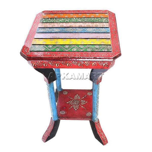 APKAMART End Table 21 Inch
