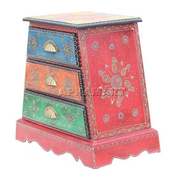 APKAMART Ethnic Drawers 20 Inch