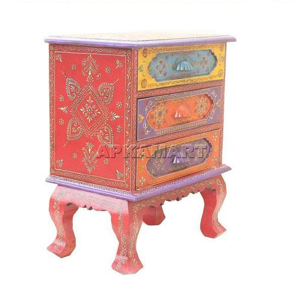 APKAMART Ethnic Drawers 24 Inch