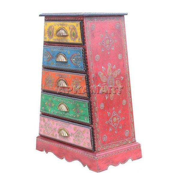 APKAMART Ethnic Drawers 29 Inch