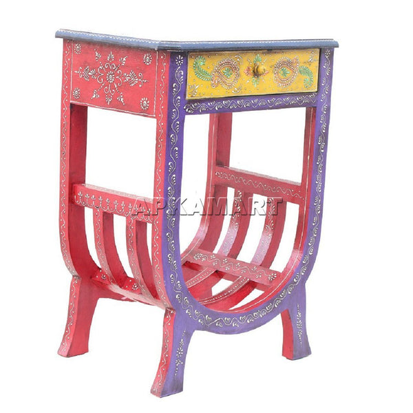 APKAMART Ethnic Table 24 Inch