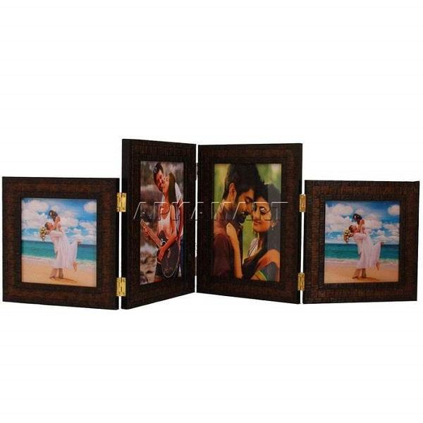 APKAMART Four Sided Photo Frame