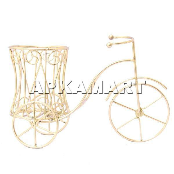 APKAMART Golden Bottle Holder