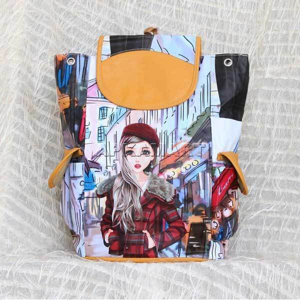 APKAMART Graphic Backpack