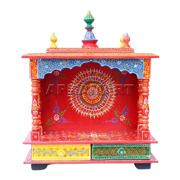 APKAMART Home Temple  21 inch