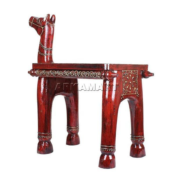 APKAMART Horse  End Table 19 Inch