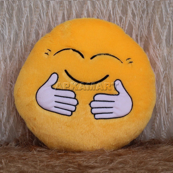 Hugging Smiley Cushion