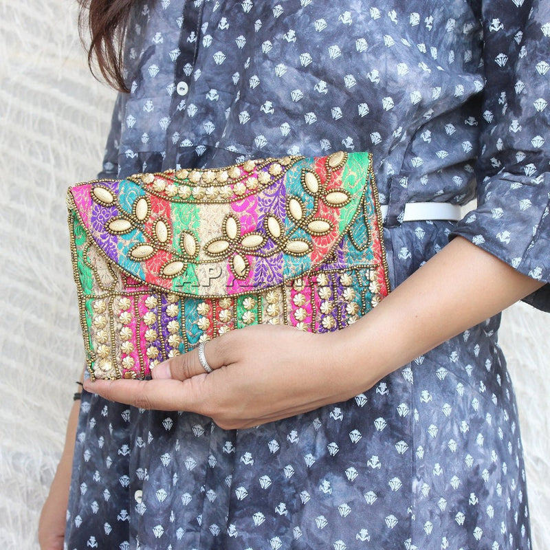 Indian Traditional Clutch