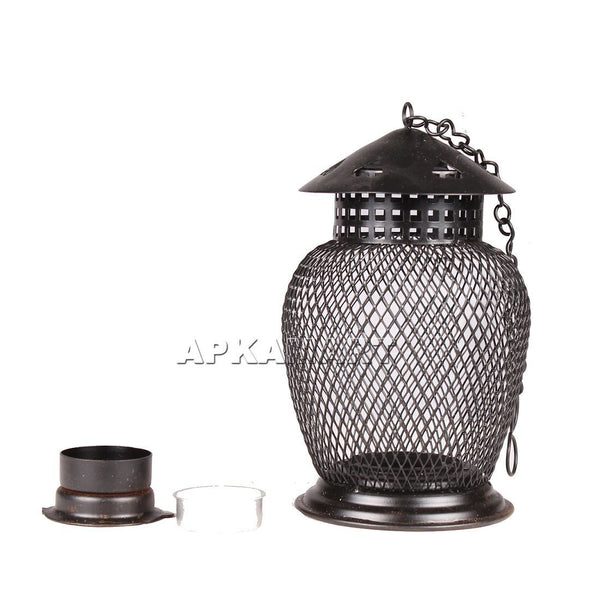 APKAMART Lantern T Light Holder 7 Inch
