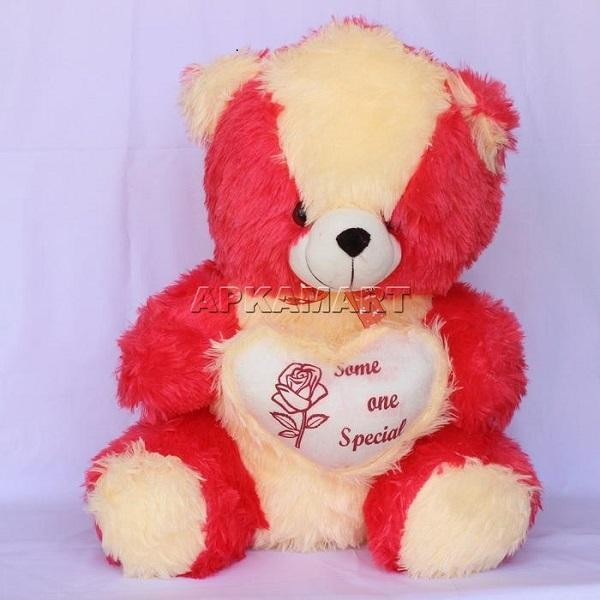 APKAMART Large Heart Teddy