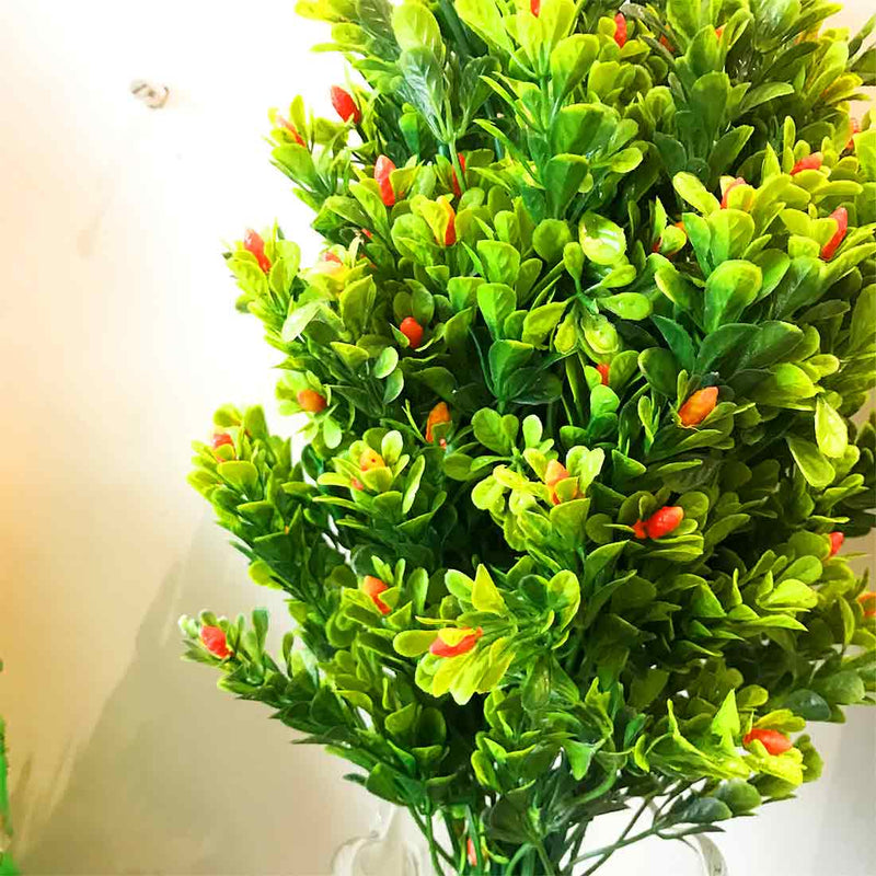 Leaves Bunch with Orange Buds - ApkaMart