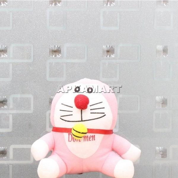 APKAMART Light Pink Smiling  Soft Toy