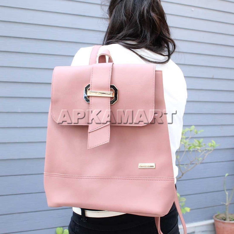 Lockable Pink BackPack 13 Inch