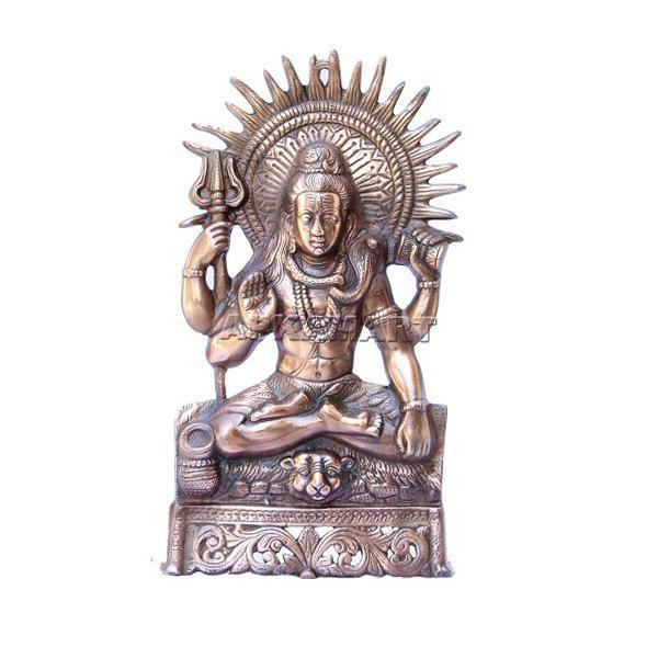 APKAMART Lord Shiv Wall hanging 16 inch