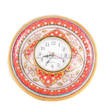 APKAMART Marble Table Clock 6 Inch