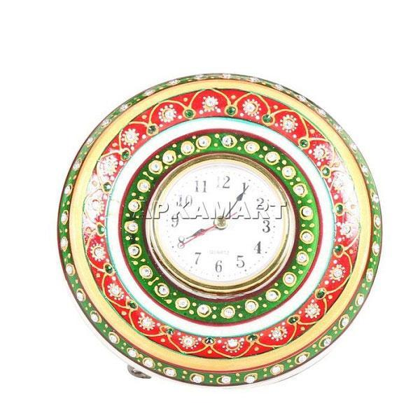 APKAMART Marble Table Watch 6 Inch