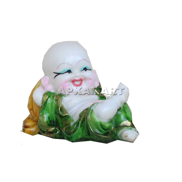 APKAMART Multicolour Baby Monk Set 4 Inch