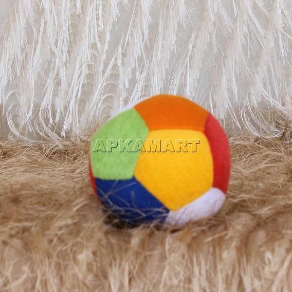 APKAMART Mutlicolour Ball Soft Toy