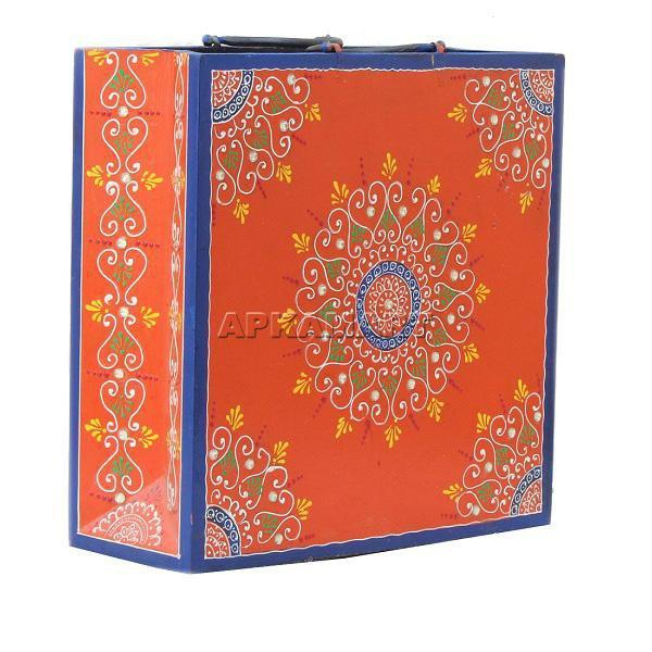APKAMART Orange Magazine Holder 10 Inch