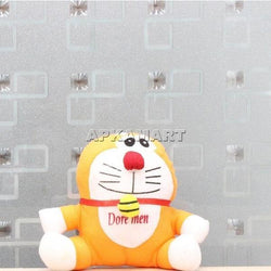 APKAMART Orange  Smiling  Soft Toy
