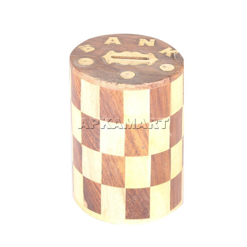 APKAMART Piggy Bank or Gullak Check Design 6 Inch