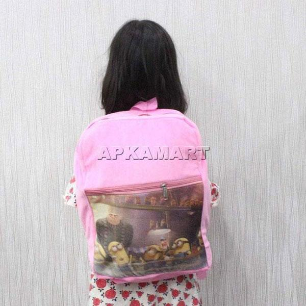 APKAMART Pink Backpack