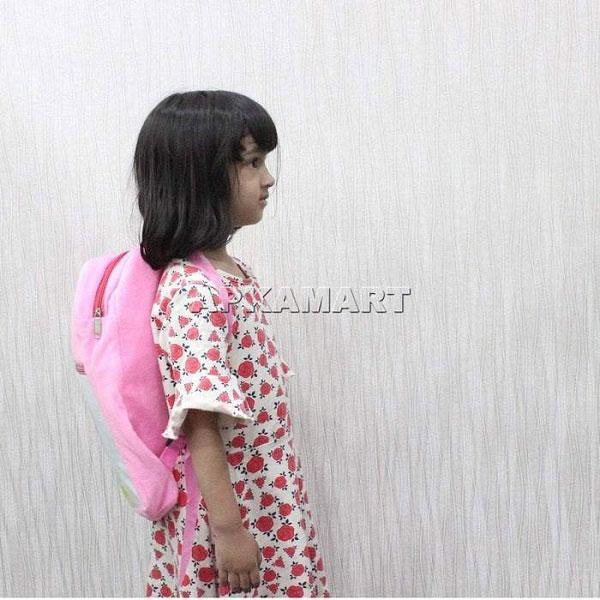APKAMART Pink kids Backpack