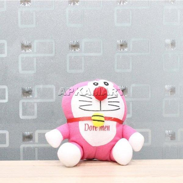 APKAMART Pink Smiling Soft Toy