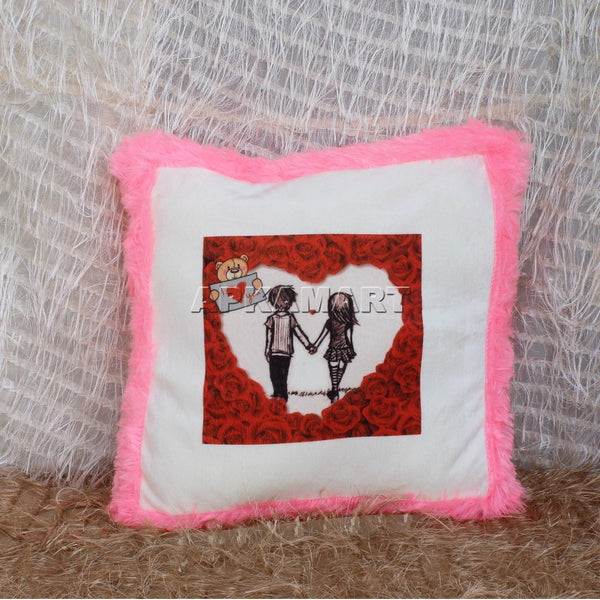 APKAMART Pink Soft Pillow