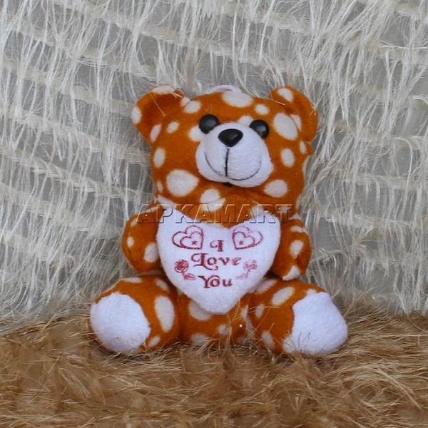 APKAMART Polka Dot Heart Teddy