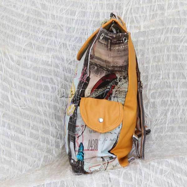 APKAMART Printed Impact Backpack