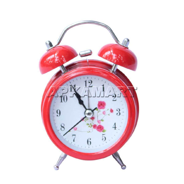 APKAMART Red Alarm Clock 5 inch