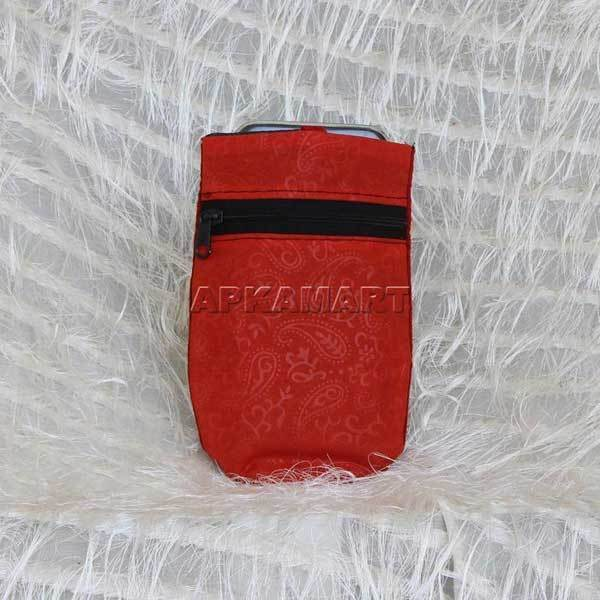 APKAMART Red Decorative Mobile Pouch