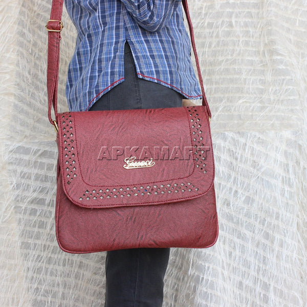 APKAMART Red Sling Bag