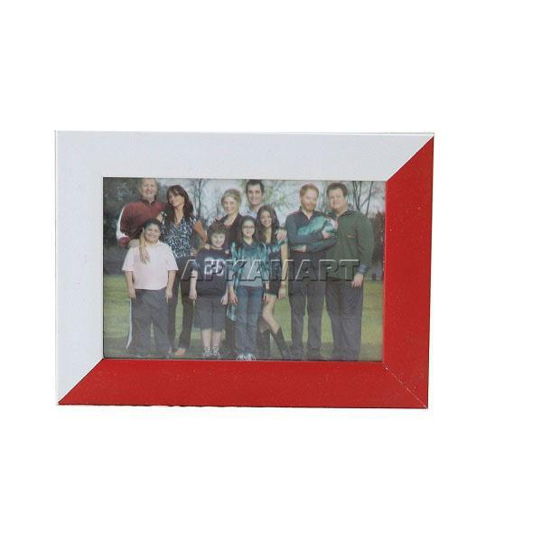 APKAMART Red & White Table Photoframe 5 Inch