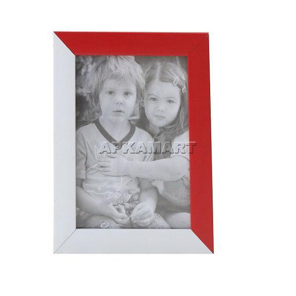 APKAMART Red & White Table Photoframe 8 Inch